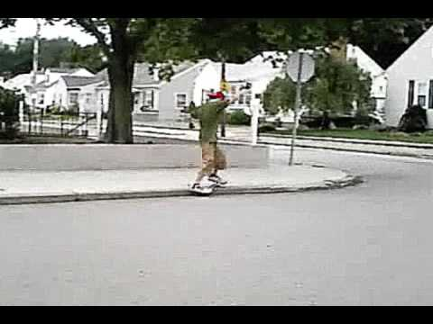 Tim Fox Casterboarding - Trick Progression - The Best of THEN