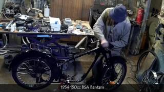 1954 150cc BSA Bantam Motorcycle Restoration An Irishwebtv.com Media Group Production