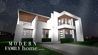 Roblox | Bloxburg | Modern Family Home