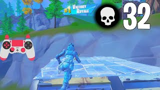 32 Elimination Solo Squad Win Gameplay Full Game Season 7 (Fortnite Ps4 Controller)