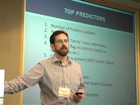 Drive 2011 Conference: Data Mining 1