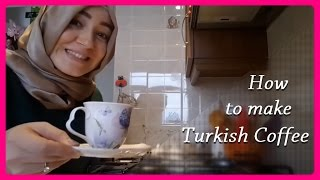 Turkish Coffee Making - How to make Turkish coffee at home - Turkish coffee recipe