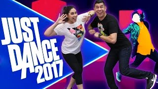 """CARELESS DANCING"" Just Dance 2017 - Husband vs Wife"