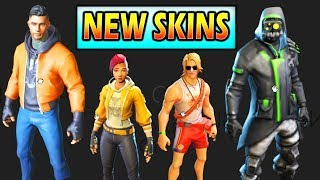 *NEW* FORTNITE SKINS 3D MODELS (LEAKED) Fortnite Skins Archetype, Scuba Diver Skins!