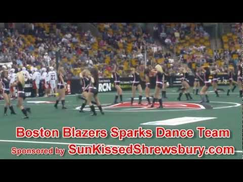 Boston Blazers Sparks Dance Team Performance- All Night Long