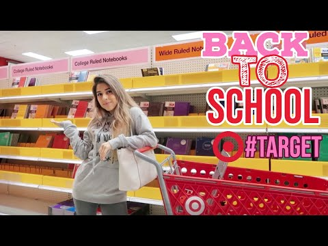TARGET BACK TO SCHOOL SHOPPING 2019