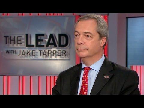 Nigel Farage: Trump, Brexit movements aren't racist