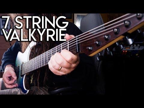 GOC Valkyrie 7 String Ive got too much gear!