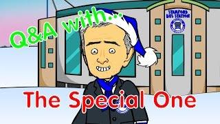 JOSE MOANINHO Q&A! (Football Advent Calendar Day 5, Jose Mourinho Parody)