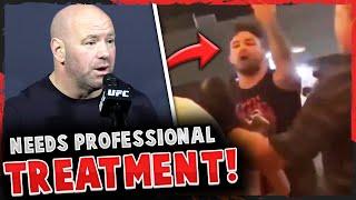UFC reacts to Mike Perry's BAR FIGHT + will NOT offer him fights anymore, Jorge Masvidal, UFC 251