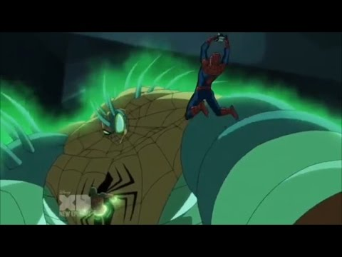 Ultimate Spider Man vs the Sinister Six- Web Warriors vs Kaine