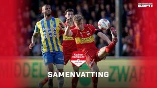 HIGHLIGHTS | Knotsgekke wedstrijd tussen Go Ahead en RKC
