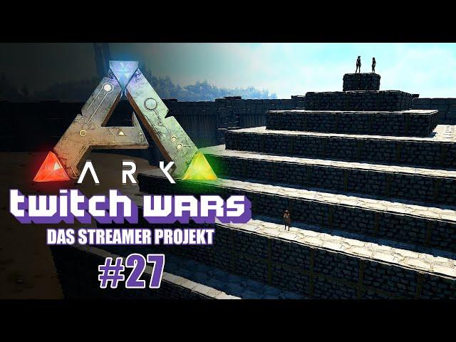 Die Pyramide 🦖 ARK Twitch Wars #27 [Lets Play Deutsch]