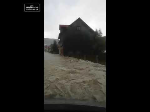 Schlimme Schäden nach schwerem Unwetter über Thüringen