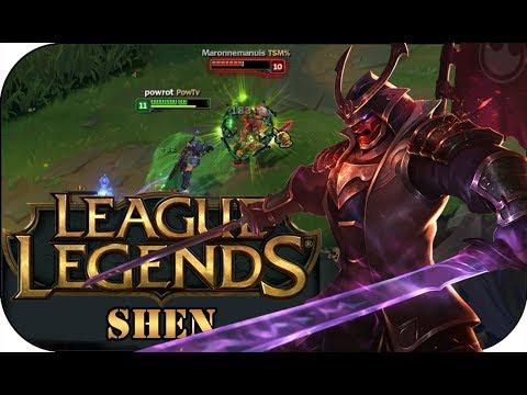 EIN SOLIDER TOPLANER! SHEN   League of Legends Gameplay deutsch