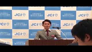 福井青年会議所の皆様に向けて、弊社代表が企業向けのPRスピーチを行い...