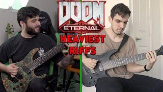 DOOM ETERNAL - Heaviest Guitar Riff...