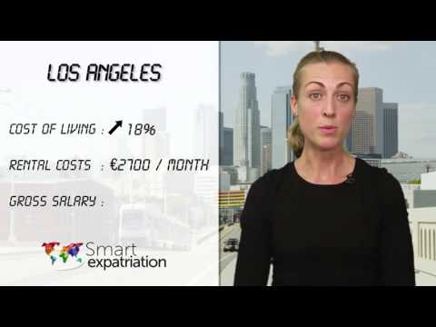 Los Angeles - Cost of Living, Rental Costs & Gross Salary