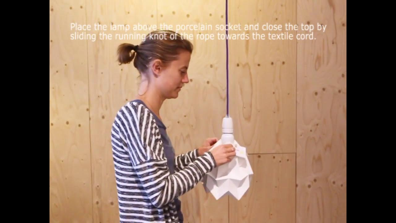Studio Snowpuppe Lamp : Moth instruction studio snowpuppe youtube