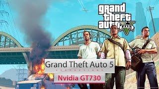 GTA V on Intel Core 2 Quad Q8400 & Nvidia GT730