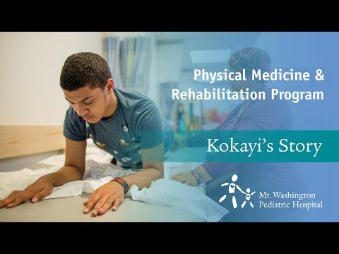 Mt. Washington Pediatric Hospital Physical Medicine and Rehabilitation Program