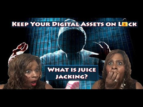 """Cyber Security - What is Juice Jacking (SERIES: """"KEEP your DIGITAL ASSETS ON LOCK!"""" )"""