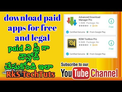 how to download paid apps for free and legal 2018