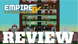 Empire TV Tycoon Review - Comedy TV - Review Lets play Gameplay