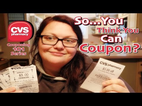 How to Coupon at CVS // So You Think You Can Coupon Series // Couponing 101