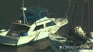 Tsunami currents crash Calif. boats