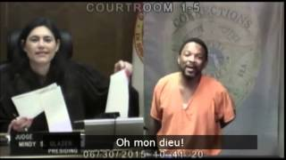 La juge et le prévenu étaient d