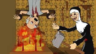 Download EVIL NUN THE HORROR GAME ANIMATION #2 : GRANNY Vs Scary Evil Nun Mp3 and Videos