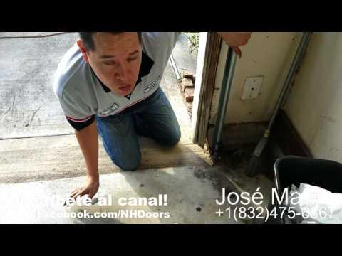 Como Arreglar El Problema De La Puerta De El Garage Que