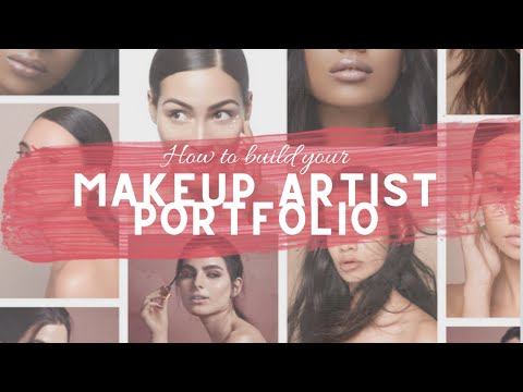Makeup Artist Portfolios & How to Build Yours