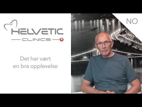 Han har fått implantater, rotfylling, bro og kroner - Helvetic Clinics