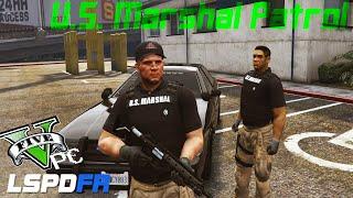 """""""US Marshal pt. 1"""" -- #7 -- LSPDFR 0.2 Beta (Official Mod)"""