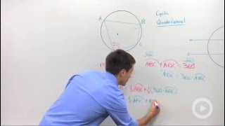 Geometry - Cyclic Quadrilaterals and Parallel Lines in Circles