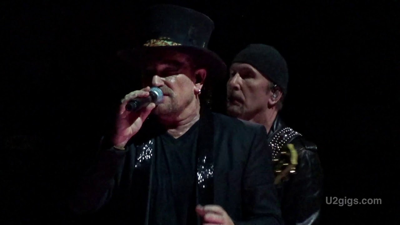 U2 Hamburg Acrobat 2018 10 04 U2gigscom Youtube