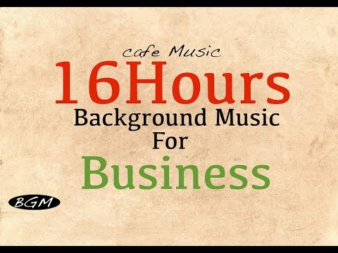 GET 16HOURS TRACK for BUSINESS:Cafe Music Jazz & Bossa!!