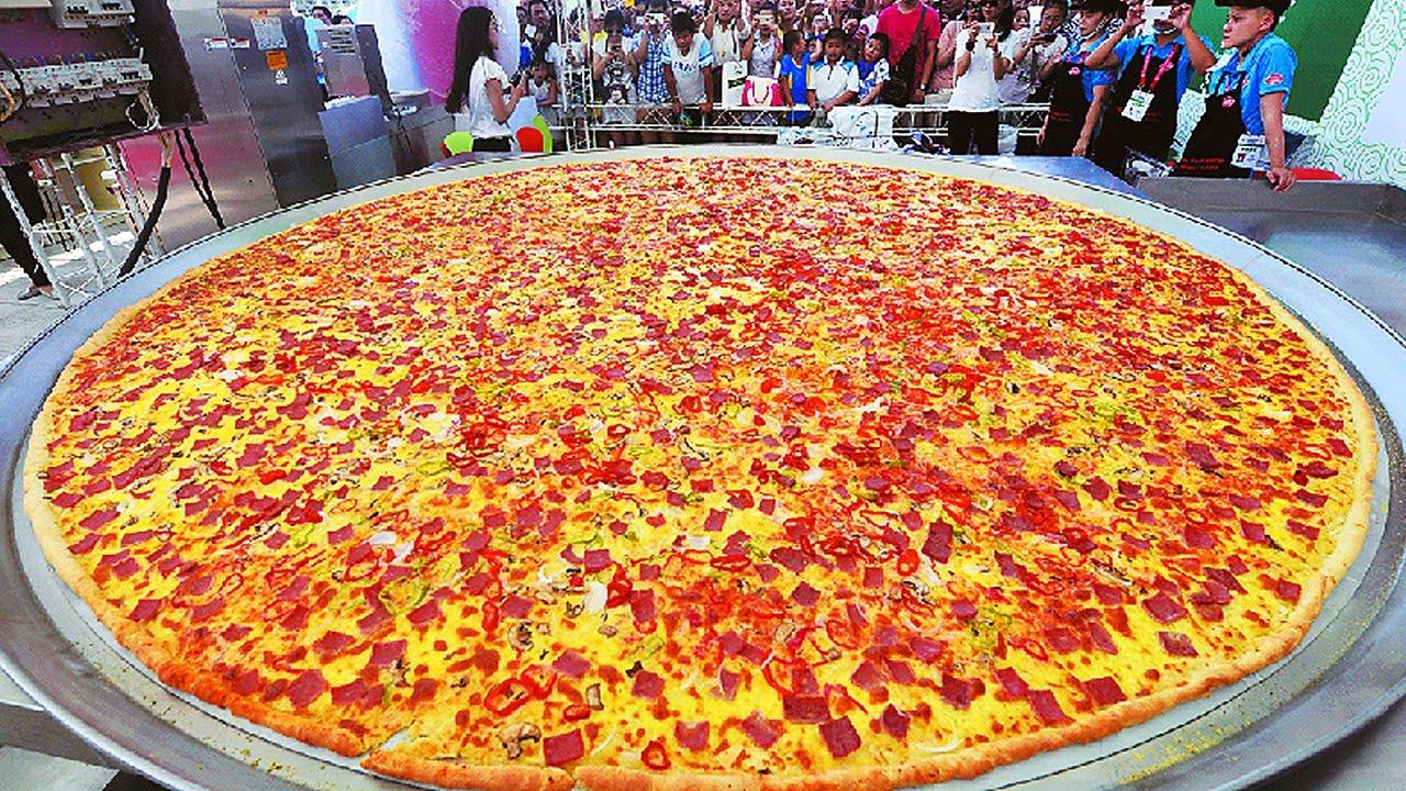 La Pizza Mas Grande Del Mundo Cosas Grandes 26 Youtube