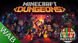 Minecraft Dungeons Review - Worthabuy? (Video Game Video Review)