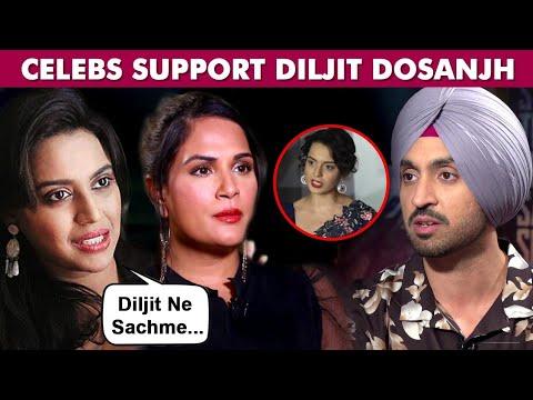 Download Kangana Ranaut VS Diljit Dosanjh | Bollywood Stars Support Diljit Over Farmers Protest Tweet