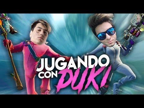 JUEGO FORTNITE CON DUKI (EN SERIO)