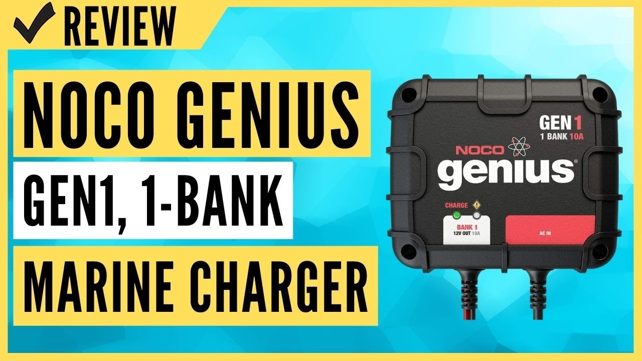 Download NOCO Genius GEN1, 1-Bank, 10-Amp (10-Amp Per Bank) Fully-Automatic Smart Marine Charger Review