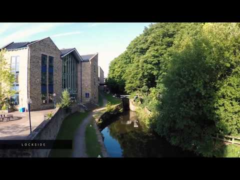 Explore the University of Huddersfield's campus!