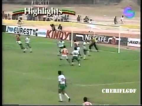 Algérie 0-3 Côte d'Ivoire (CAN 1992 Sénégal)