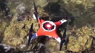 Splash Drone Waterproof Quadcopter Kickstarter Preview