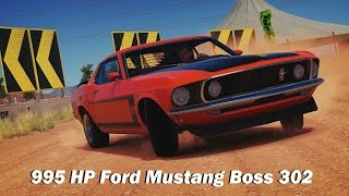 Extreme Power, No Handling (Autocross) - 1969 Ford Mustang Boss 302 (Forza Horizon 3)