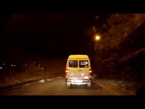 Night 9:00 pm driving on Bangalore Roads