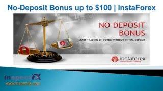 Forex No Deposit Bonus - InstaForex